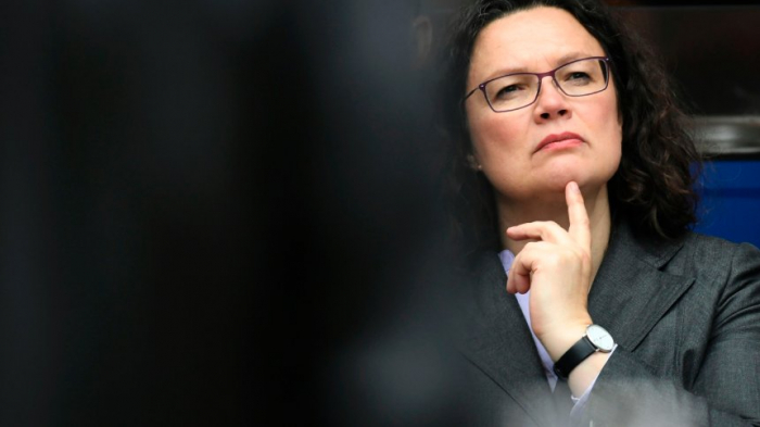 Nahles wittert Schulz-Putsch