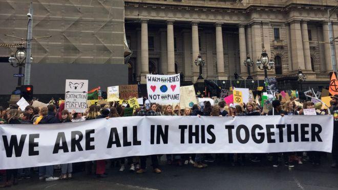 School students in Australia, New Zealand walk out in global climate strike