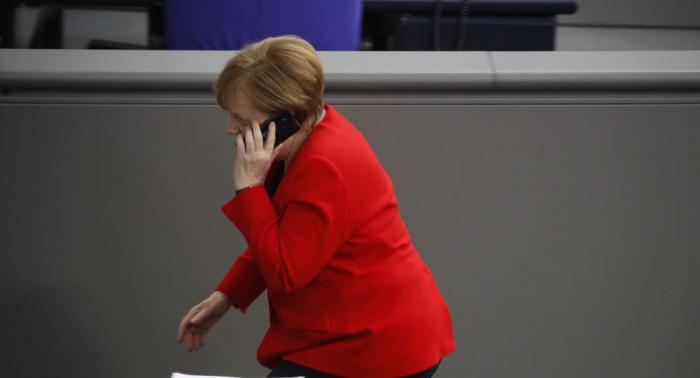 Merkel telefoniert mit neuem ukrainischen Präsidenten
