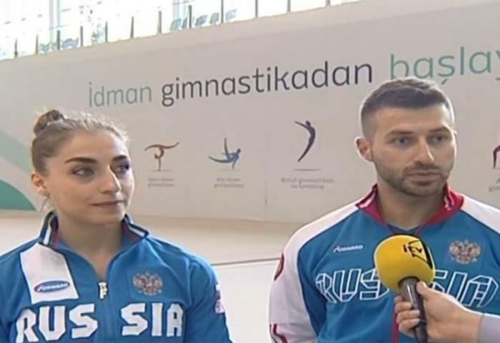 Gimnastas de origen armenio:  Bakú es una ciudad hermosa y segura