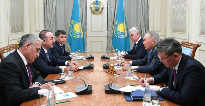 Nazarbayev Türk Şurasının Fəxri prezidenti oldu
