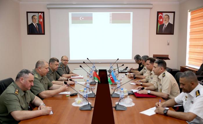 Azerbaijan, Belarus discuss co-op in field of military inspection
