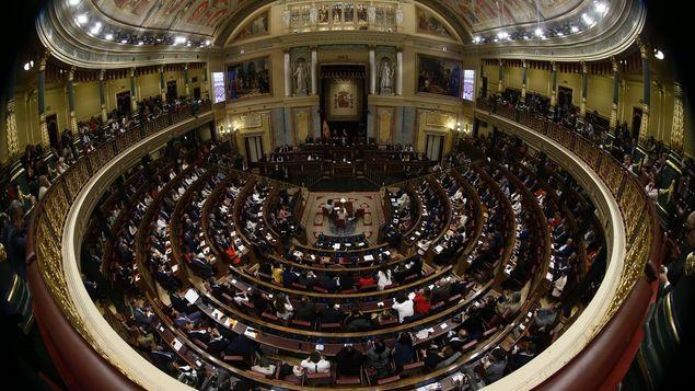 El Congreso español suspende a los 4 diputados independentistas catalanes presos