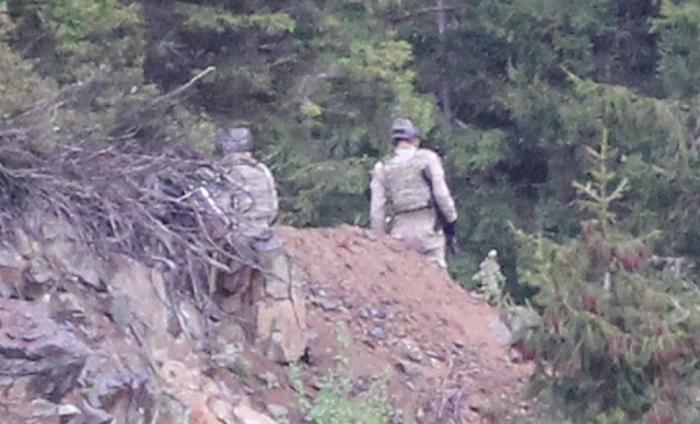 PKK-nın Qara dəniz düşərgəsi ələ keçirildi