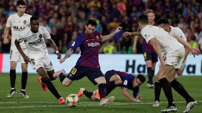 Barcelona verliert Pokalfinale gegen Valencia