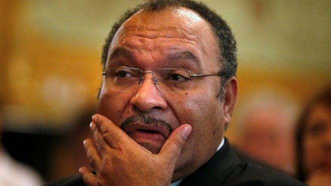 Papua New Guinea Prime Minister Peter O