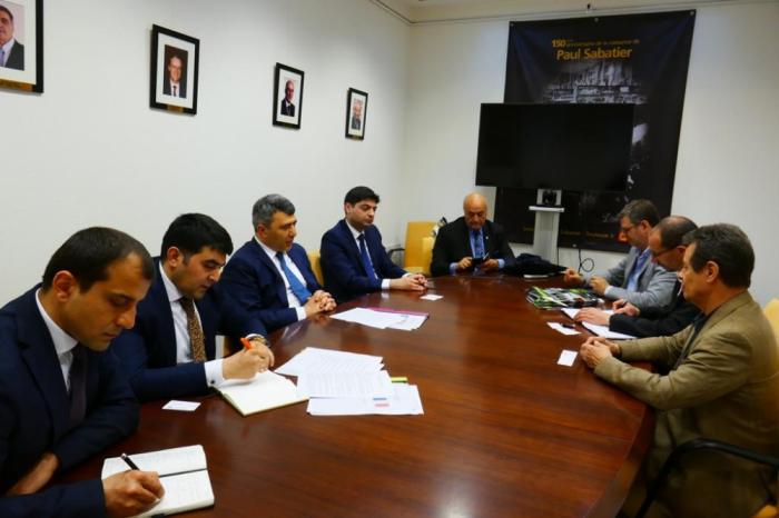Le ministre azerbaïdjanais de l'Agriculture a eu une série de rencontres à Toulouse