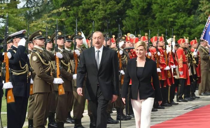President: Croatia highly appreciates friendly partnership relationship with Azerbaijan