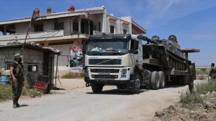 Ejército sirio refuerza su presencia antiterrorista en Hama