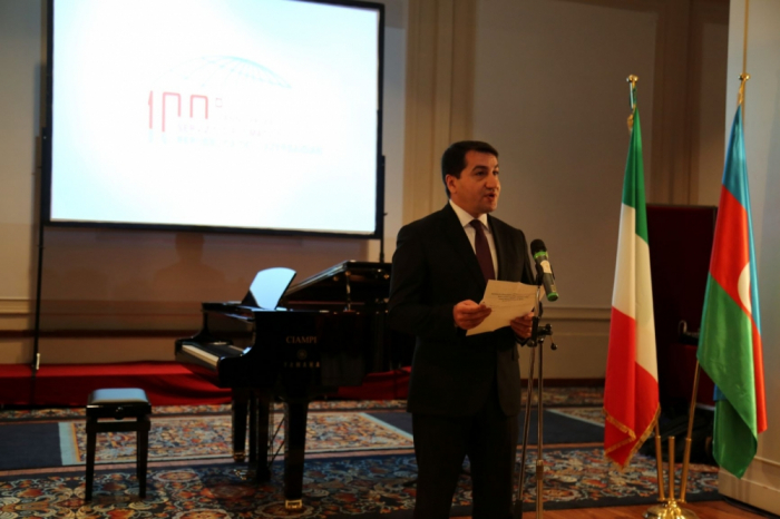 Official reception held in Rome to mark Azerbaijan's Republic Day
