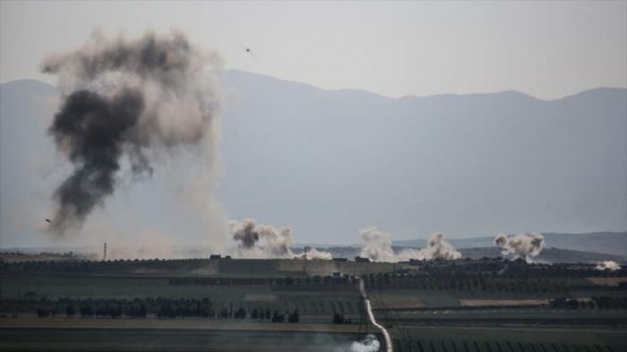 Ejército sirio bombardea posiciones de terroristas en Idlib