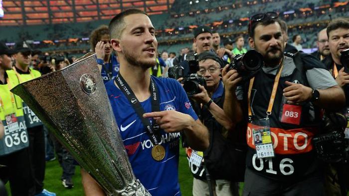 Chelsea-Star Hazard spricht über Abschied
