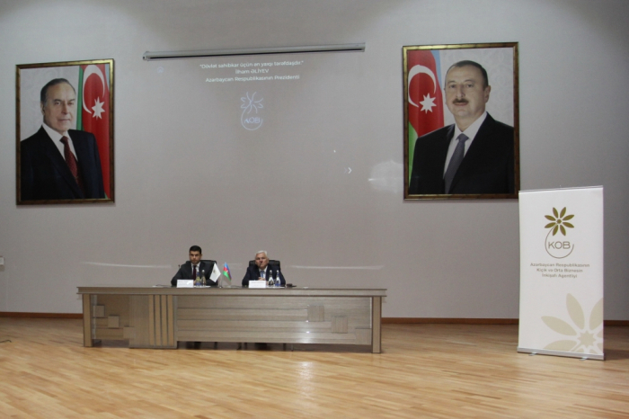 """Şəkidə """"KOB Dostu"""" fəaliyyətə başlayıb"""