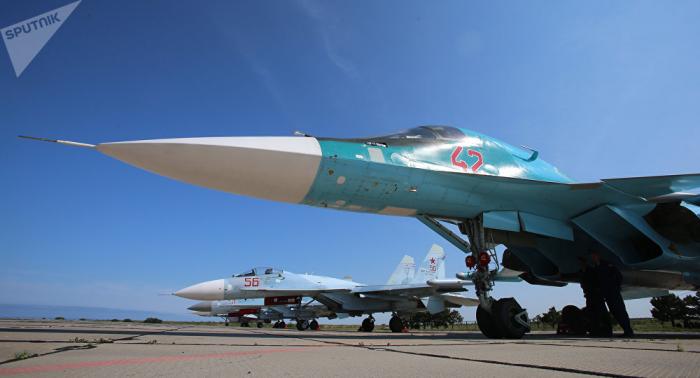 Raketenschlag der Su-34 gefilmt –   VIDEO