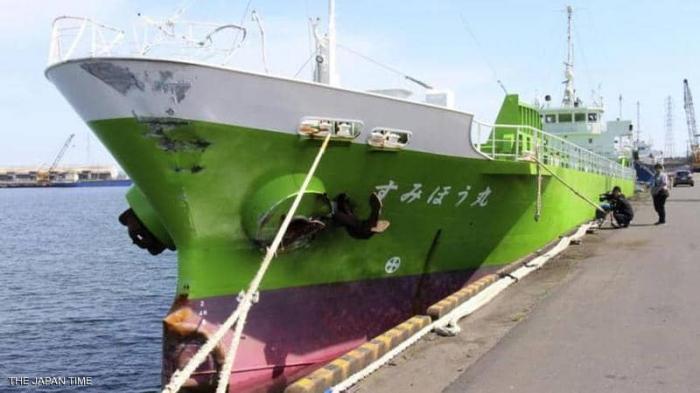 اليابان.. فقدان بحارة بعد اصطدام سفينتين