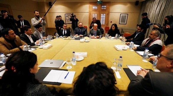 ملخص اجتماعات اليوم الأول لوفدي الشرعية والانقلابيين في الأردن