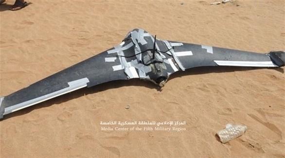 التحالف العربي يسقط طائرة في المهرة