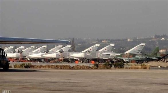 قتيل في هجوم بالصواريخ على قاعدة عسكرية روسية في سوريا