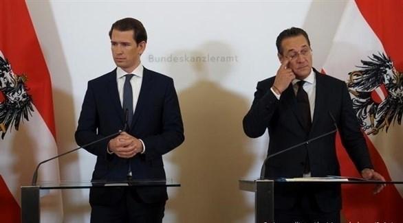 نائب مستشار النمسا يقدم استقالته بعد فضيحة فيديو سري