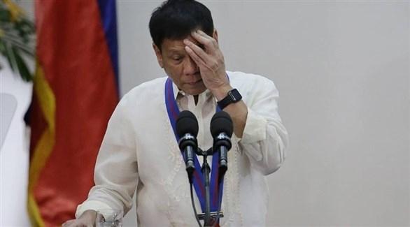 الفلبين تنفي إصابة دوتيرتي بأزمة قلبية