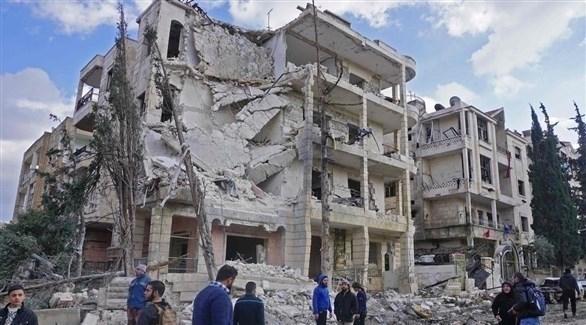 مقتل 10 مدنيين بغارات روسية في إدلب