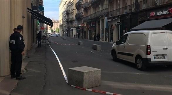 الشرطة الفرنسية تبحث عن رجل ترك قنبلة في ليون