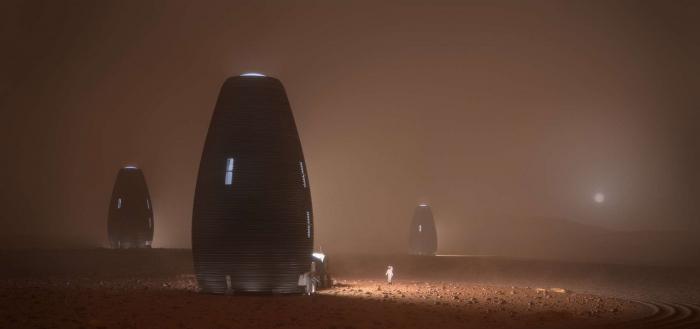 Le premier habitat sur Mars pourrait ressembler à ça