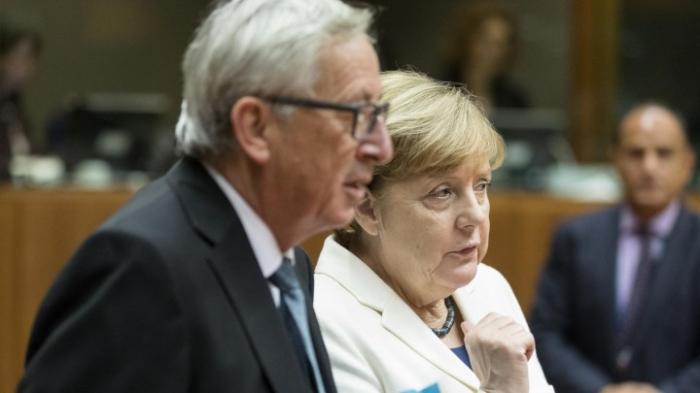 "Juncker: ""Geschichte wird Merkel recht geben"""