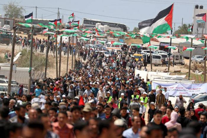 Une cinquantaine de Palestiniens blessés dans la bande de Gaza