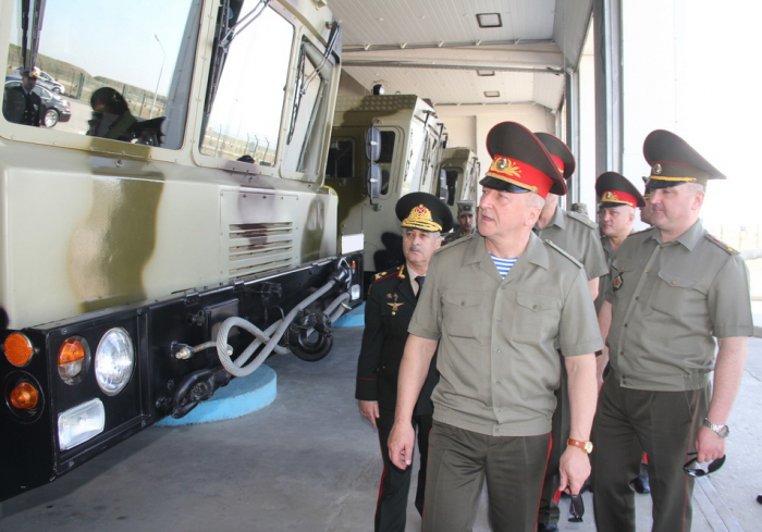 Delegation of Armed Forces of Belarus visited military unit - PHOTOS