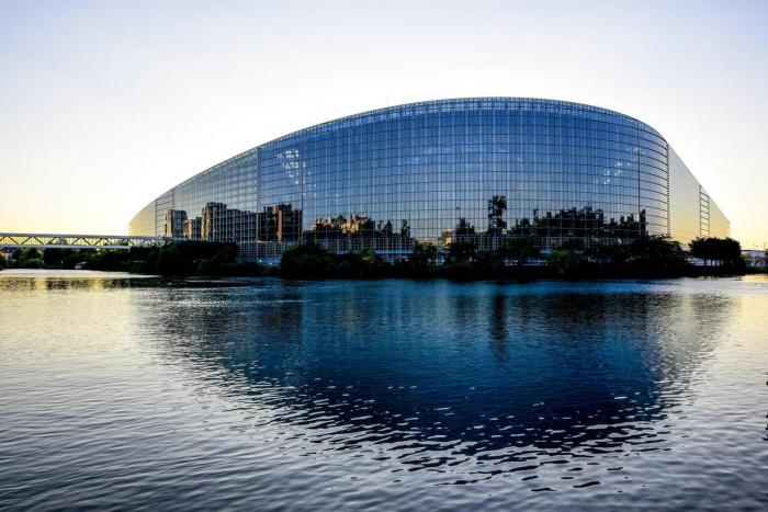 Das Europaparlament der EU