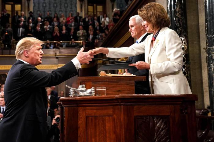Donald Trump und Nancy Pelosi attackieren einander nun auch persönlich