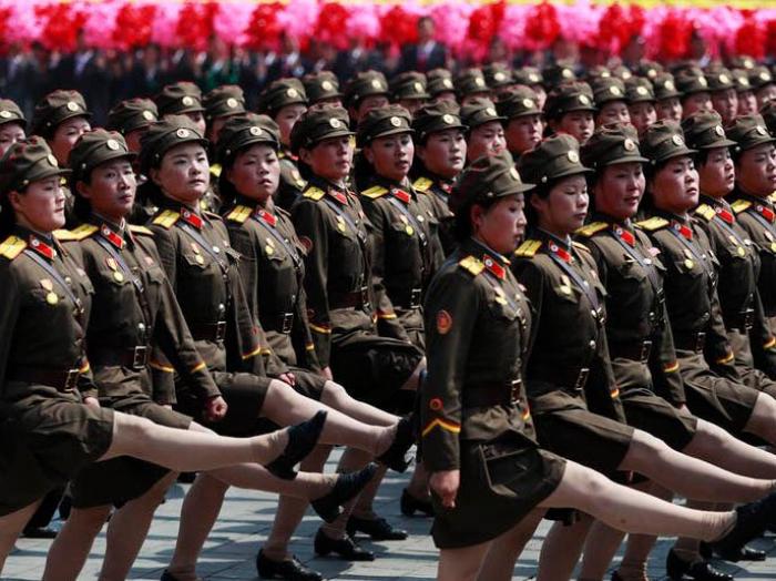 Thousands of North Korean women