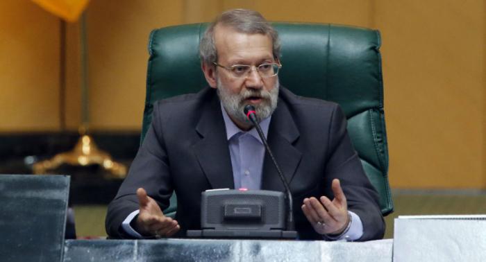 انتخاب لاريجاني رئيسا للبرلمان الإيراني لدورة ثالثة