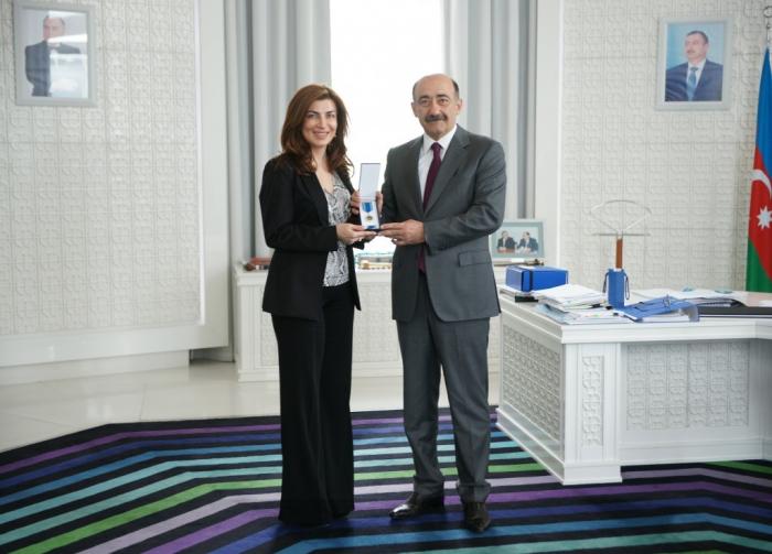 Mədət Quliyev sektor müdirini təltif edib