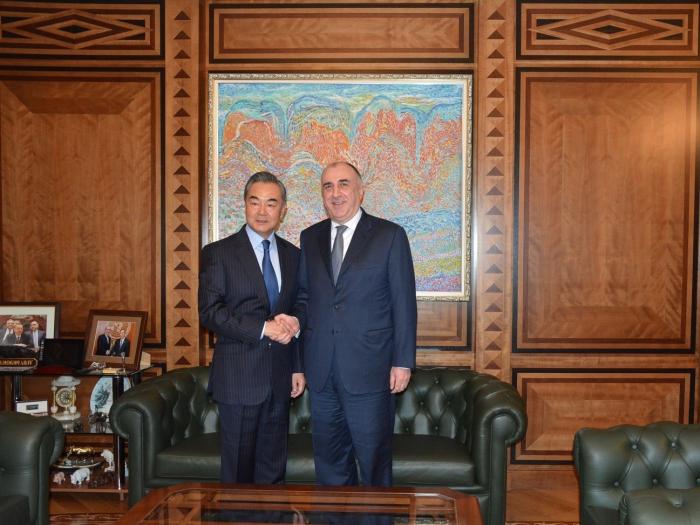 Les ministres des Affaires étrangères azerbaïdjanais et chinois se rencontrent
