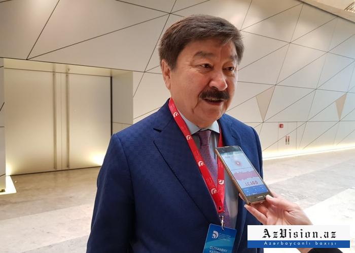 """""""Azərbaycan dilində danışa bilirəm"""" - TÜRKSOY-un baş katibi"""