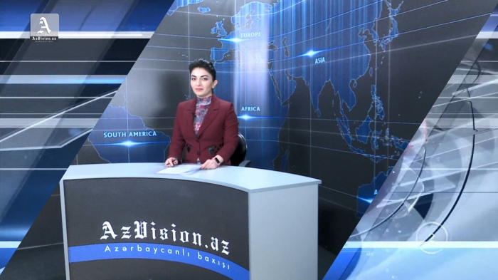 AzVision TV releases new edition of news in English for May 1 -  VIDEO