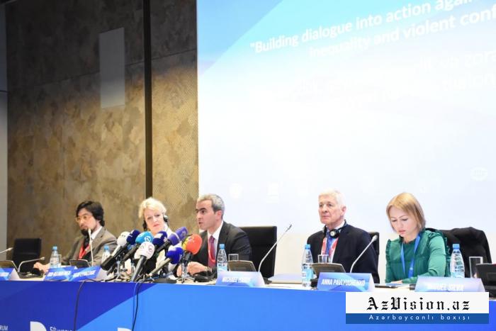 Bakou accueille le 5e Forum mondial sur le dialogue interculturel