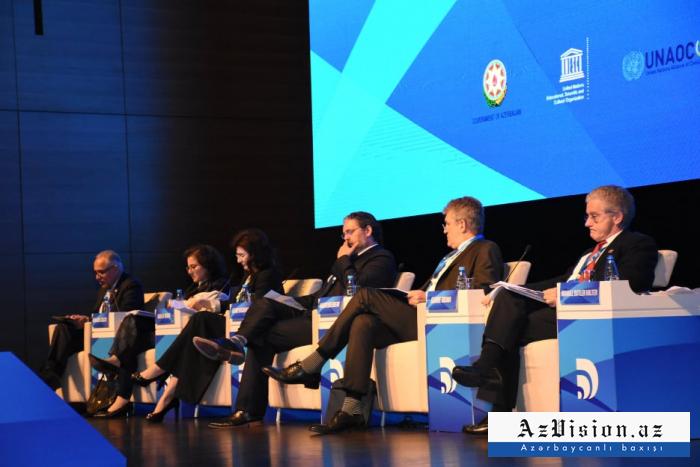 Bakıda beynəlxalq forum keçirilir - FOTOLAR