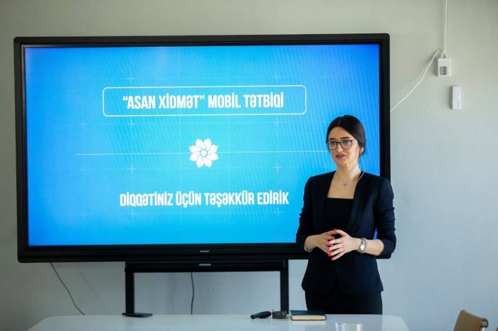 """""""ASAN xidmət"""" mobil tətbiqi istifadəyə verilib - FOTO"""