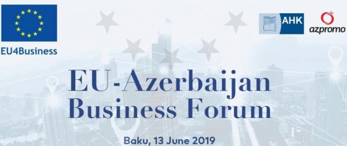 L'UE organise un forum d'affaires UE-Azerbaïdjan le 13juin