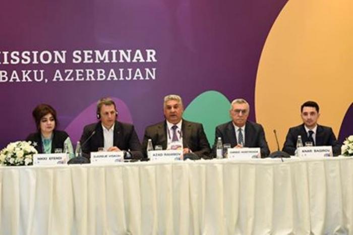 """""""Bakı-2019"""" festivalının medalları təqdim edilib"""