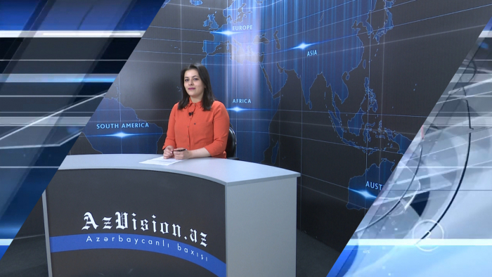 AzVision TV releases new edition of news in English for May 10 -  VIDEO