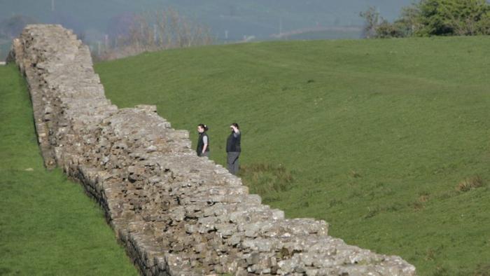 FOTOS:     Colapsa la muralla romana que inspiró