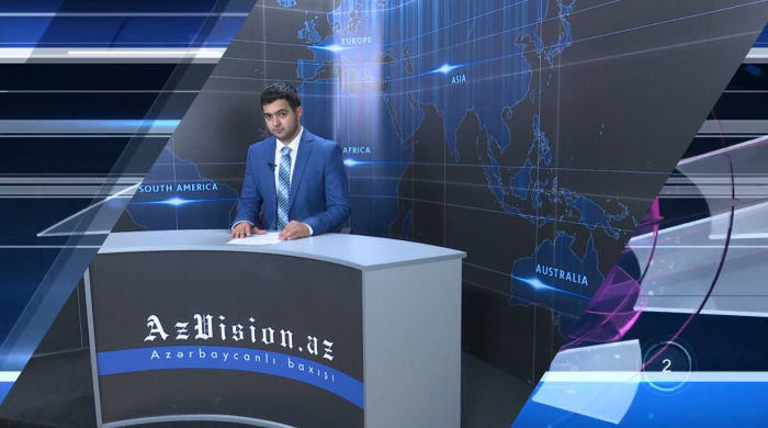 AzVision TV:  Die wichtigsten Videonachrichten des Tages auf Deutsch  (14. Mai) - VIDEO