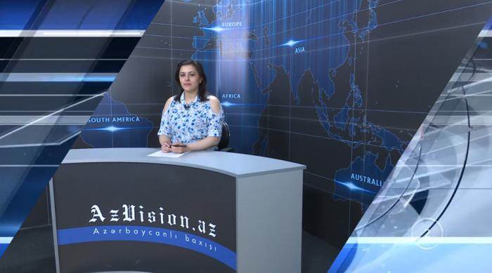 AzVision TV:  Die wichtigsten Videonachrichten des Tages auf Englisch  (14. Mai) -VIDEO