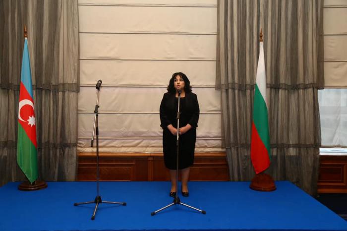 Azərbaycan səfirliyi Sofiyada rəsmi qəbul keçirib - FOTOLAR