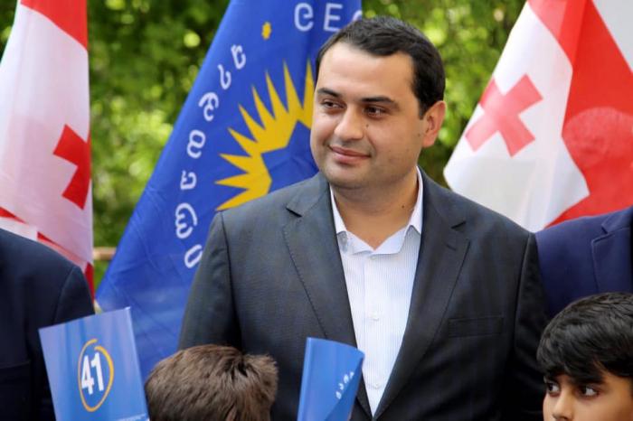 Zaur Gürcüstanda mer seçildi - FOTOLAR