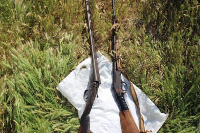 Silah-sursat aşkar edilərək götürülüb